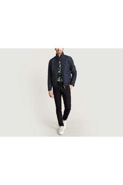 Knowledge Cotton Apparel - Reversible Grey/ black