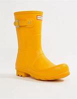 Hunter - Woman's Original Wellington Short Boot Yellow