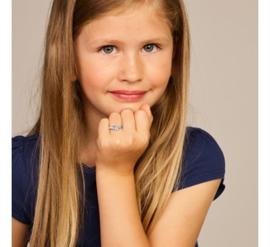 zilveren kinderring eenhoorn Starlight Premium