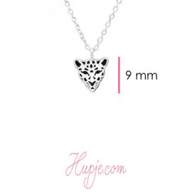 zilveren ketting tijger (45 cm)