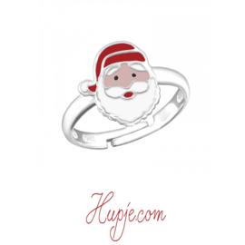 zilveren kinderring kerstman