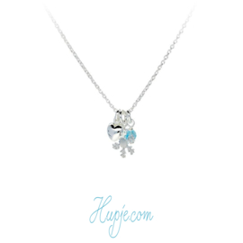 zilveren kinderketting Frozen