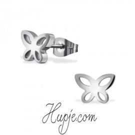 Ohrringe Chirurgenstahl Schmetterling
