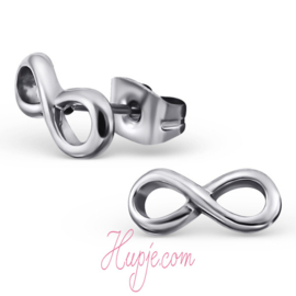 Ohrringe Chirurgenstahl Infinity