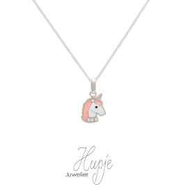 zilveren kinderketting sparkling unicorns Premium