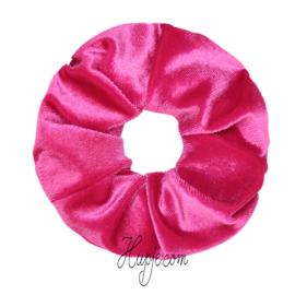 scrunchie color power Fuchsia