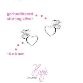 ♥ GRATIS ♥ zilveren hartjes (bij 3 setjes oorbellen of meer - -> voeg toe aan je winkelwagentje!)