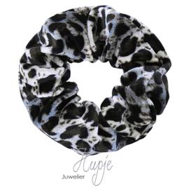scrunchie Sweet Velvet Leopard