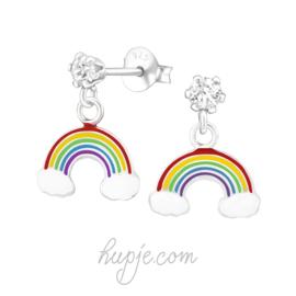 Regenboog hangertje + zirkonia