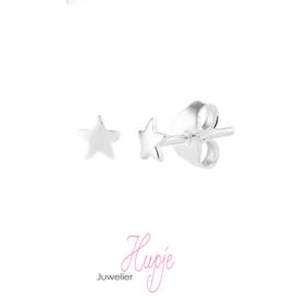 zilveren oorknopjes sterren