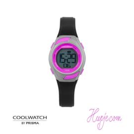 Kinderarmbanduhr PRISMA coolwatch rosa schwarz (29 mm)