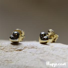 14 karaat gouden hartjes 4mm