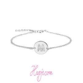 zilveren armband mama