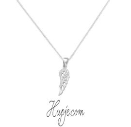 Silberne Kette Schutzengel Flügel