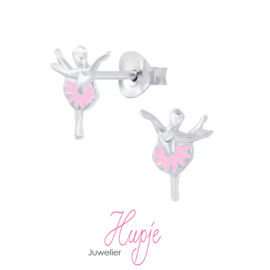 zilveren oorbellen ballet