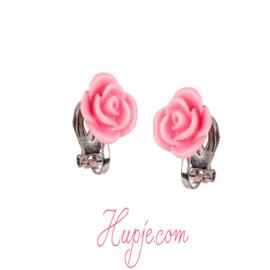 SOUZA Clip-Ohrringe hellrosa Rose