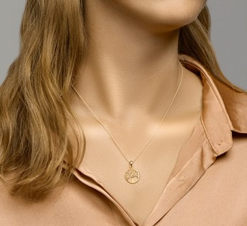 ketting levensboom rond goud