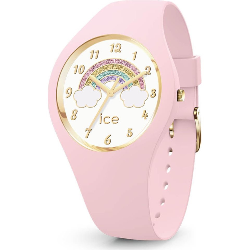 kinderhorloge Ice Fantasia Rainbow pink