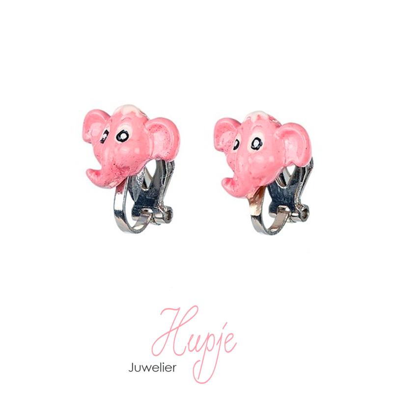 SOUZA clipoorbellen olifant roze