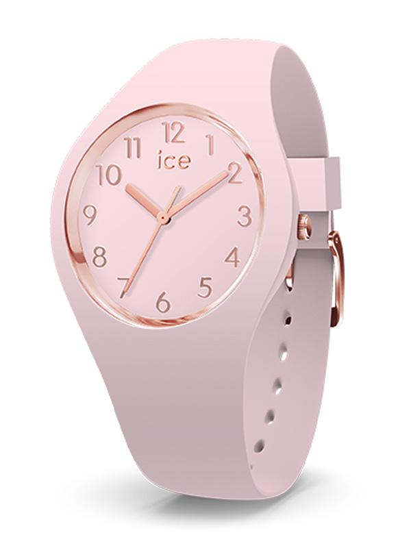 ice-watch horloge glam pastel pink (XS, 28 mm kast)
