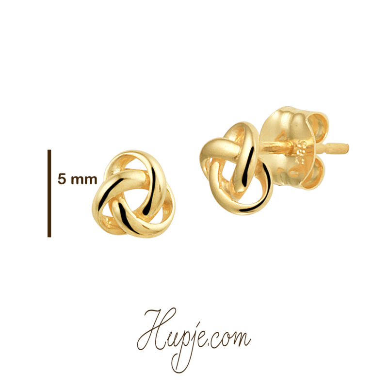 14 Karat Gold Ohrringe Stecker