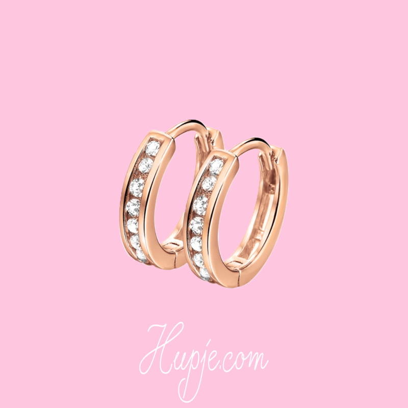 Premium Amsterdam Collection earrings rosegold
