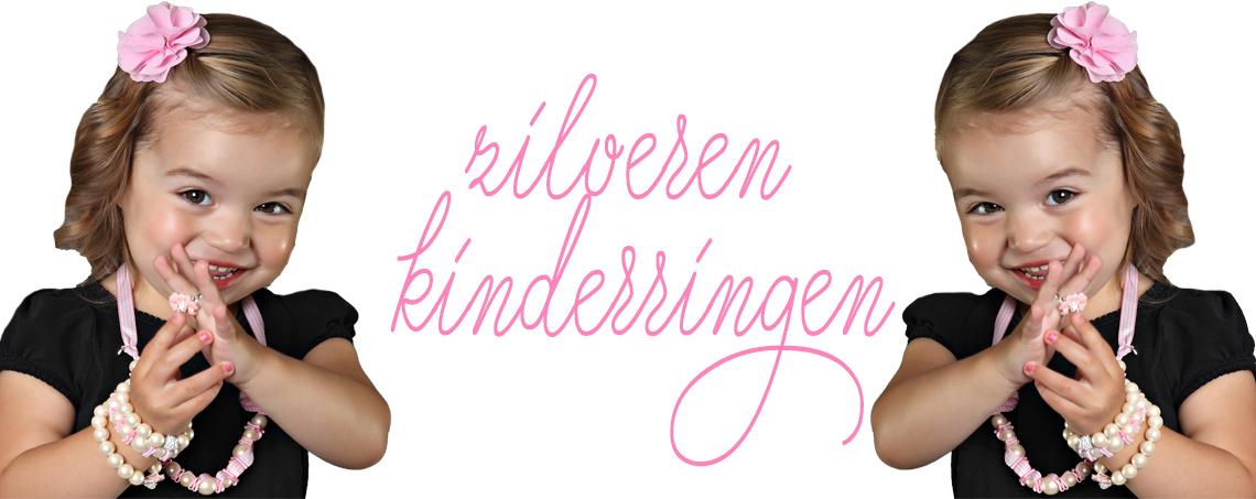 zilveren kinderringen juwelier Hupje.com