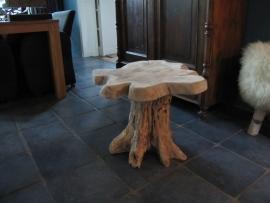 Teakhouten salontafel/bijzettafel