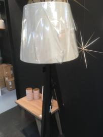 Staande lamp met kap