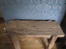 Site table teak Rustiek