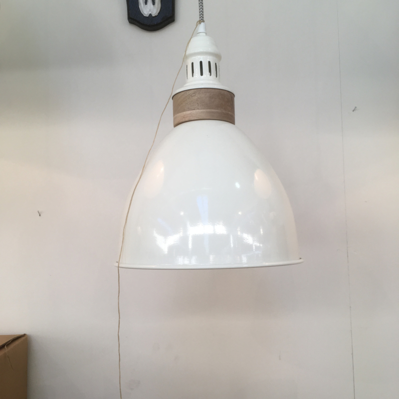 BF-25 Hanglamp hout 38 cm
