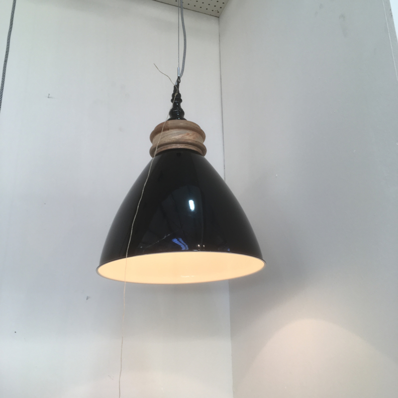 BF-35 Hanglamp hout 26 cm