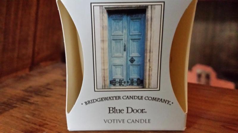 Blue Door Geurkaars