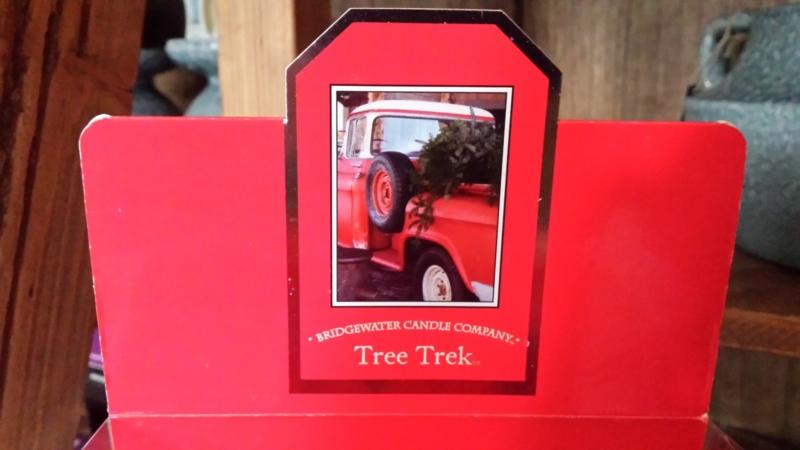 Tree Trek Geurkaars