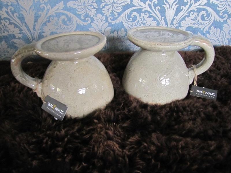 Brynxz stenen kaarsenkandelaar