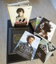 Boeken over Britse films en series en meer