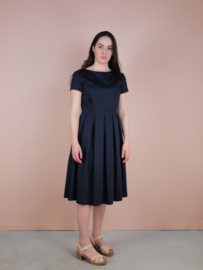 Claudia Dress marine blue