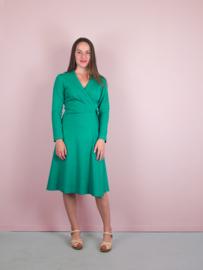Kathy Wrap Dress green (Oeko-Tex)