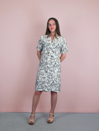 Anna Dress flower print