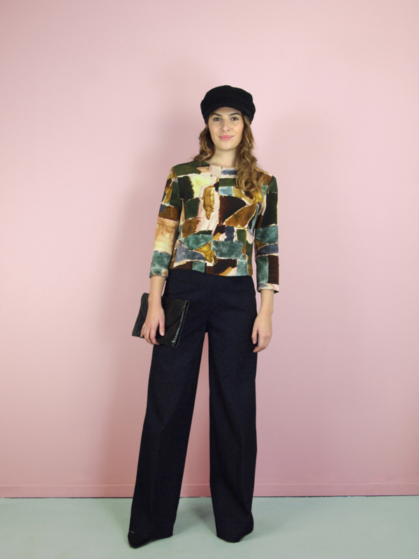 Isabelle top - print
