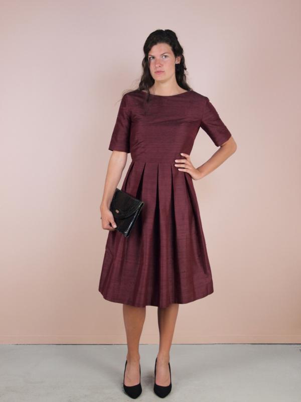 Claudia jurk luxe - maatwerk
