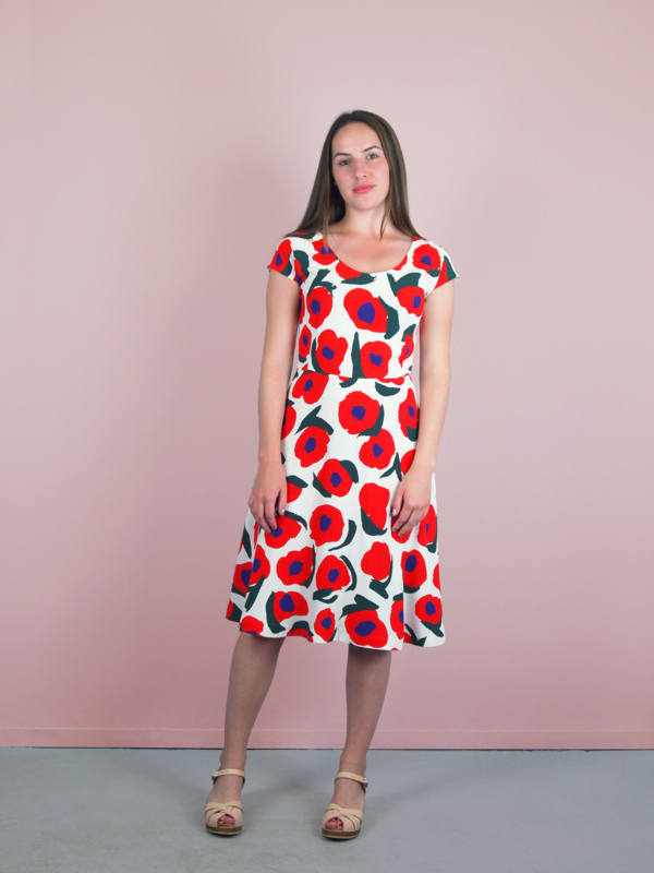 Betsy Dress flower print