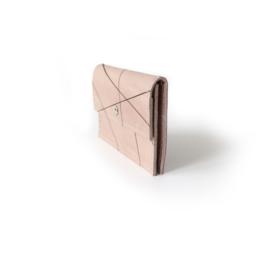 Mini portemonnee - LLines taupe