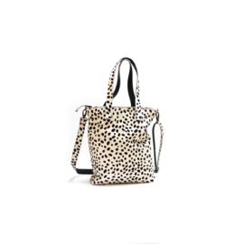 Leather diaperbag dalmatian