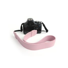 Lederen camerariem -  Lila roze