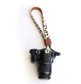 Leather camerastrap small - compact camera -more colors