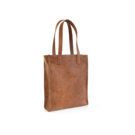 Shopper cognac Tirza