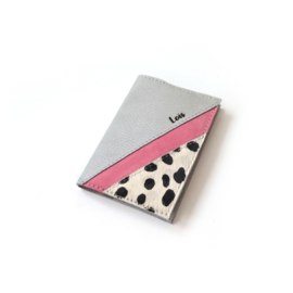 Passport cover Romy - gray