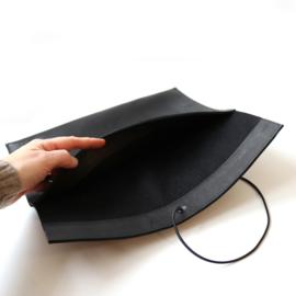 Laptophoes  zwart