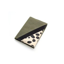 Passport cover Romy - army green
